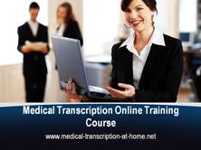 Medical Transcription Training Courses